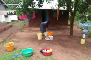 The Water Project: Shihungu Community, Shihungu Spring -  Household