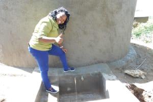 The Water Project: Eshisenye Primary School -  Flowing Water