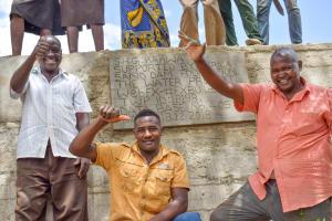 The Water Project: Kithumba Community B -  Finished Sand Dam