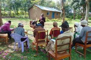 The Water Project: Ivinzo Commuity, Mushianda Spring -  Training
