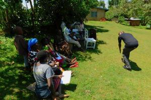 The Water Project: Koloch Community, Solomon Pendi Spring -  Water Treatment Training