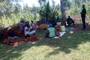 The Water Project: Asimuli Community, John Omusembi Spring -  Training