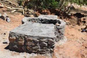 The Water Project: Katuluni Community C -  Well Progress