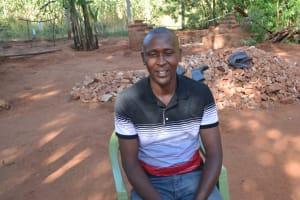 The Water Project: Ngitini Community C -  Mr Mbuthu