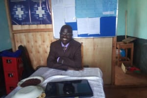 The Water Project: Immaculate Heart Secondary School -  Principal Wanjala