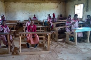 The Water Project: Ivumbu Primary School -  Students In Class