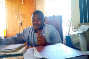 The Water Project: Ibwali Primary School -  Isaac Khaguli