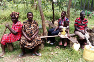 The Water Project: Burachu B Community, Namukhuvichi Spring -  Community Members