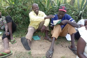 The Water Project: Shirugu Community, Shapaya Mavonga Spring -  Training