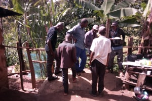 The Water Project: Samisbei Community, Isaac Rutoh Spring -  Group Discussion