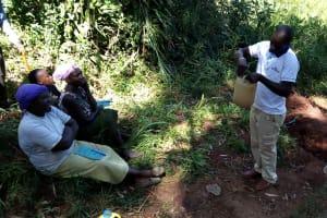 The Water Project: Chepnonochi Community, Chepnonochi Spring -  Water Handling Training