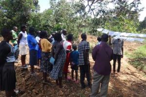 The Water Project: Shitirira Community, Peninah Spring -  Training