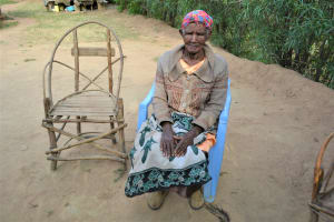 The Water Project: Ilinge Community D -  Participant Margaret Muthama