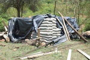 The Water Project: Kithumba Community C -  Materials We Delivered