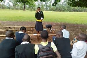 The Water Project: Lwanda Secondary School -  Dental Hygiene Training