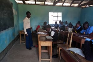 The Water Project: Nambilima Secondary School -  In Class