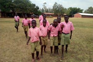 The Water Project: Mukhweya Primary School -  Students