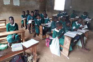 The Water Project: Ebutenje Primary School -  Students In Class