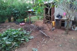 The Water Project: Shihungu Community, Shihungu Spring -  Backyard