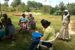 The Water Project: Emaka Community, Ateka Spring -  Dental Hygiene Training