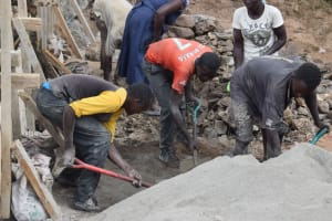 The Water Project: Masaani Community -  Sand Dam Construction