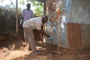 The Water Project: Kithumba Community B -  Handwashing Training