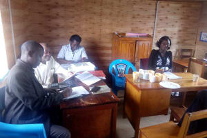 The Water Project: Hombala Secondary School -  Staff Office