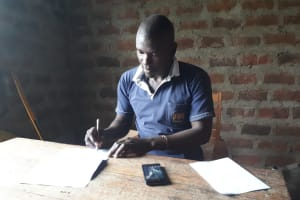 The Water Project: Ebutenje Primary School -  Senior Teacher James Otundo