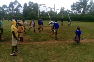 The Water Project: Essongolo Primary School -  Students Playing