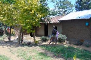 The Water Project: Emukangu Community, Okhaso Spring -  Household