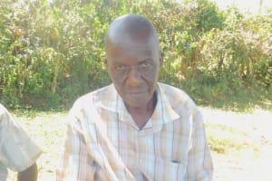 The Water Project: Sichinji Community, Kubai Spring -  Maurice Kubai
