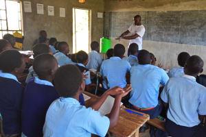 The Water Project: Gidagadi Secondary School -  Handwashing Training