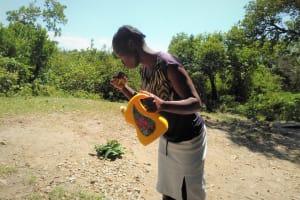The Water Project: Lunyi Community, Fedha Mukhwana Spring -  Dental Hygiene Training