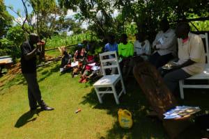 The Water Project: Koloch Community, Solomon Pendi Spring -  Dental Hygiene Training