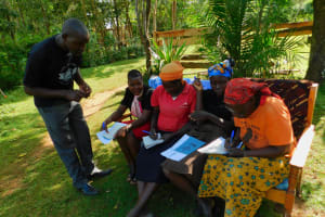 The Water Project: Koitabut Community, Henry Kichwen Spring -  Group Discussion