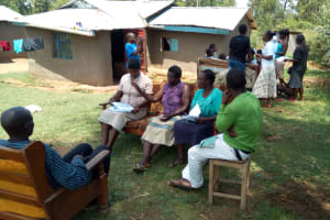 The Water Project: Elutali Community, Obati Spring -  Group Discussions