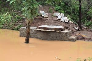 The Water Project: Masaani Community A -  Well Progress