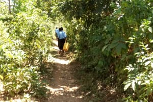 The Water Project: Hombala Secondary School -  A Path On The Way To The Spring