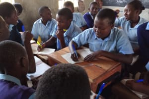 The Water Project: Gidagadi Secondary School -  Group Discussions