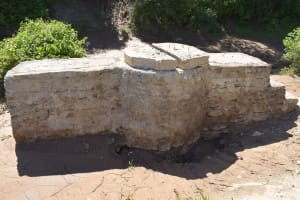 The Water Project: Ilinge Community E -  Well Progress