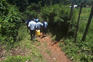 The Water Project: Musasa Secondary School -  Going To The Spring