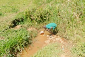 The Water Project: Shinyikha Primary School -  Fetching Water