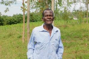 The Water Project: Eshiakhulo Community, Asman Sumba Spring -  Henry Sumba