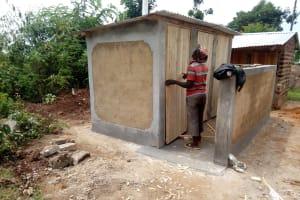 The Water Project: Matsigulu Primary School -  Latrine Construction