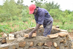 The Water Project: Ngitini Community C -  Well Construction