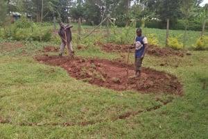 The Water Project: Lwanda Secondary School -  Excavation