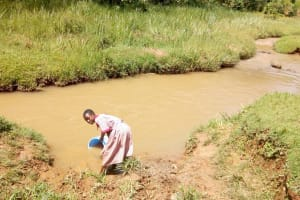 The Water Project: Ivumbu Primary School -  Fetching Water