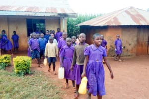 The Water Project: Munyanza Primary School -  Sent To Fetch Water