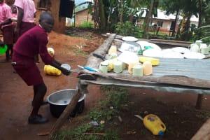 The Water Project: Kitumba Primary School -  Washing Dish