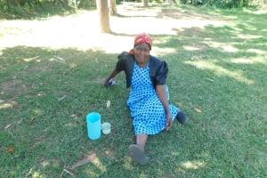 The Water Project: Sichinji Community, Kubai Spring -  Margaret Mbone